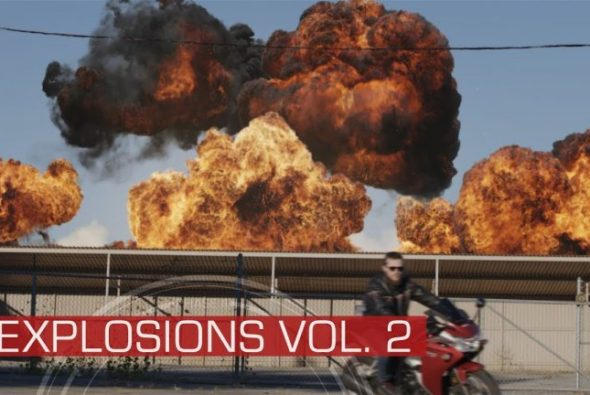 ActionVFX releases 3 new collections: Explosions Vol 2, Aerial Explosions and Dust Waves Vol.2