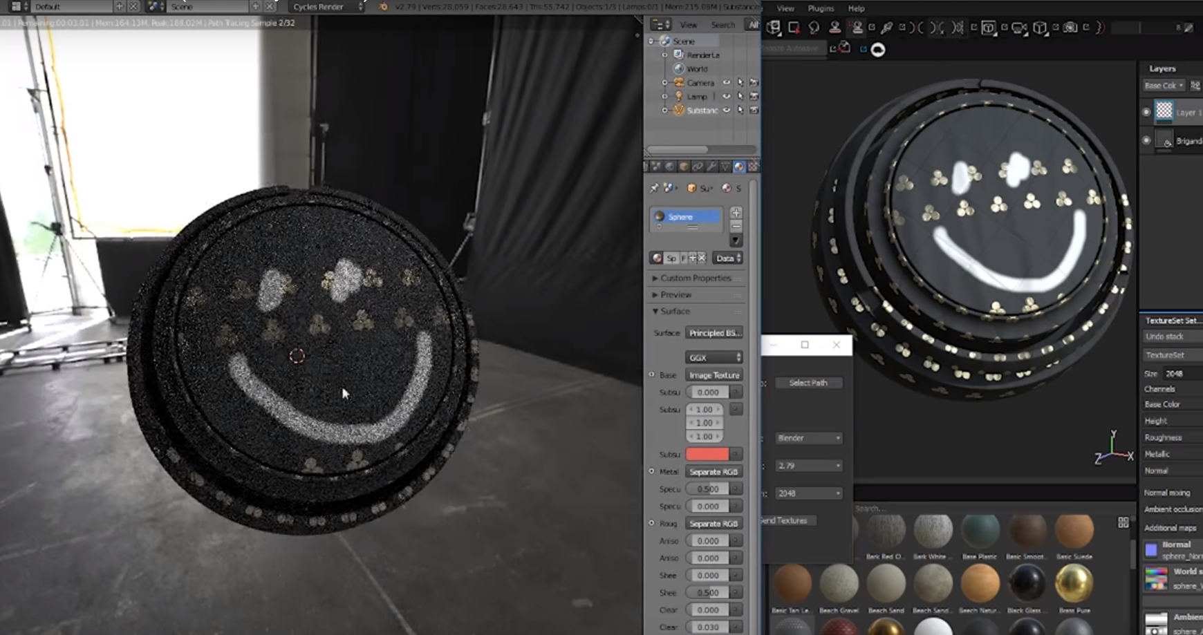 Substance Painter live link plugin adds 3DS Max support