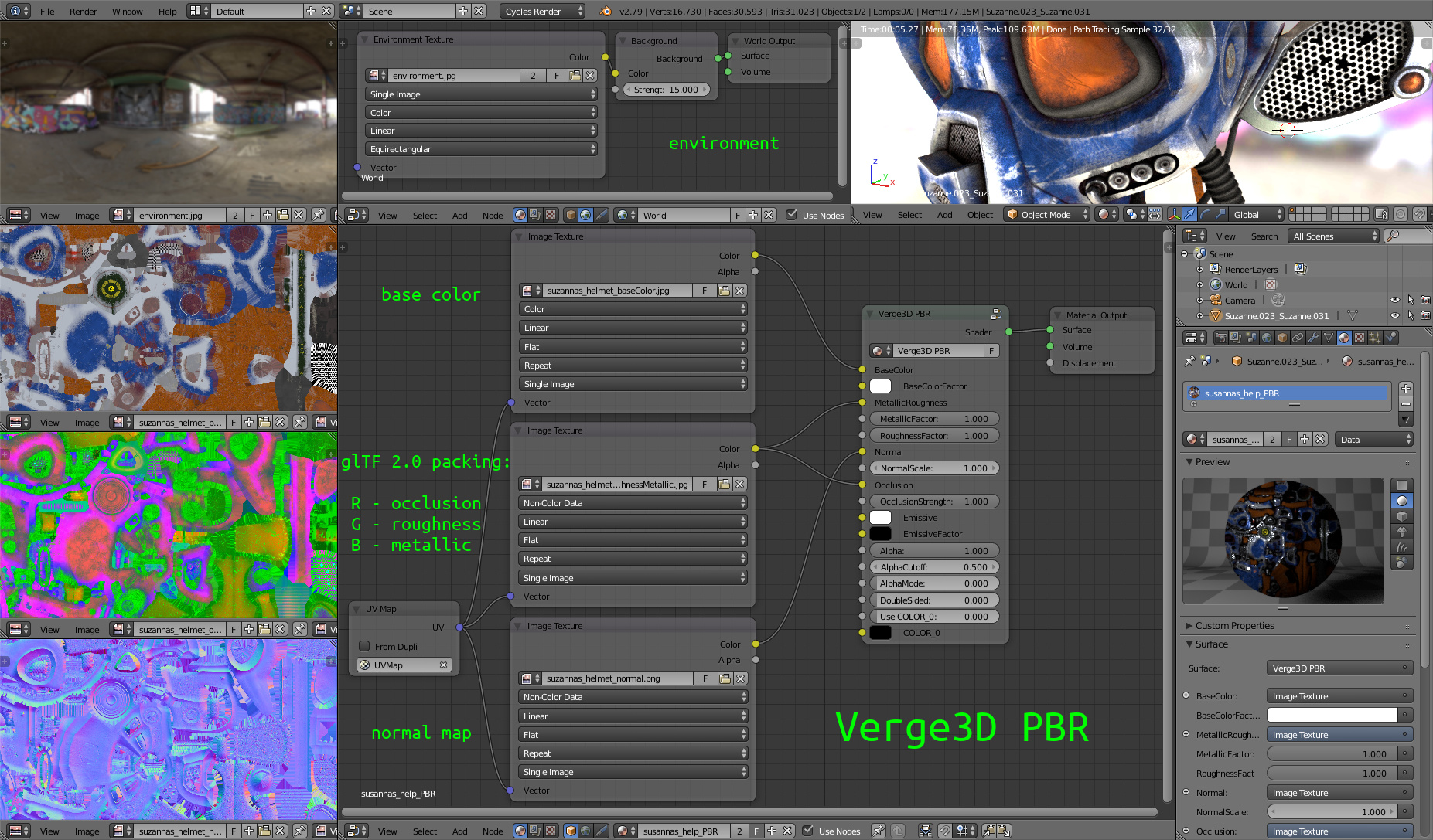 Verge3D 2.0 for Blender Released