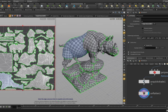 Houdini Indie now allows rendering up to 4k plus installation on a 2nd computer