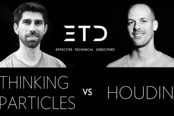 Houdini vs Thinking Particles: Fields