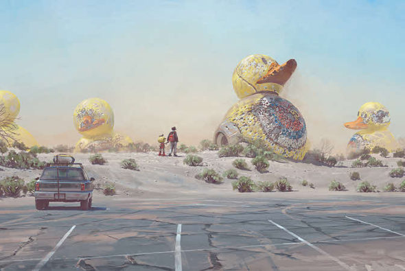 Simon Stålenhag's Electric State optioned