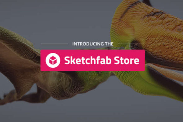 Sketchfab Store launched