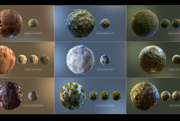 Substance materials by Daniel Thiger